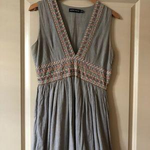 ANTIK BATIK Embroidered A-line Dress S / 38